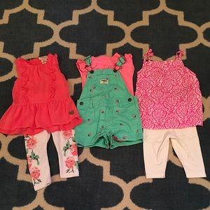 24 months girls clothes bundle